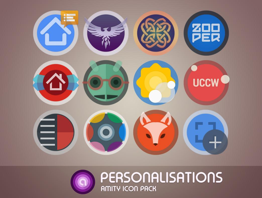 Amity Icon Pack Screenshot 5