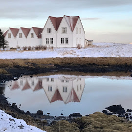 Straumur by Bjarklind Þór - Instagram & Mobile Instagram ( reflection )