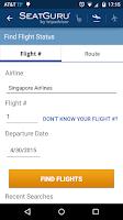 Screenshot of SeatGuru: Maps+Flights+Tracker