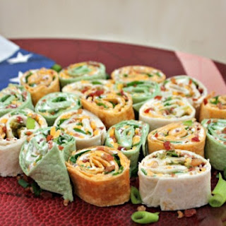 Color Me Pinwheels Appetizers