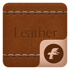 Leather Theme for Fly Launcher