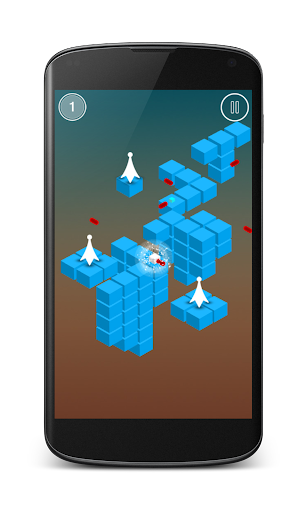 Pixel Laser Escape - screenshot