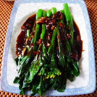 Easy Chinese Vegetables Recipe | Chinese Vegetarian Recipe with Gai lan