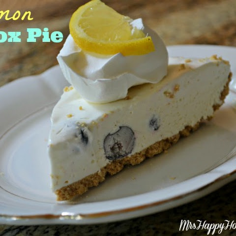 Lemon Icebox Pie (aka Lemonade Pie)