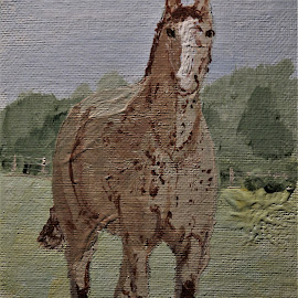 Breaker by Robin Smith - Painting All Painting ( colors, horse, pets, animal )