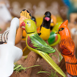 Antique Birds by Nazneen Siddique - Artistic Objects Antiques ( birds of human )