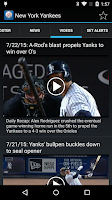 Screenshot of Sports Alerts - MLB edition