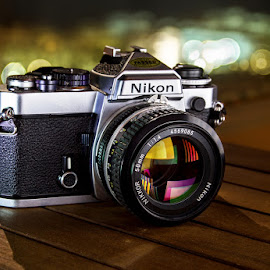 Nikon FE - 1979 by Miguel Angel Oliva - Products & Objects Technology Objects ( vintage, miguel angel oliva, nikon )