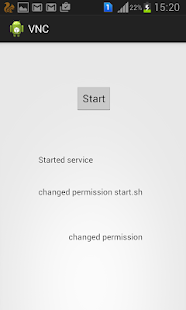 VNC Server For Android- screenshot thumbnail