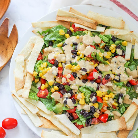 Mexican Salad with Chipotle Dressing