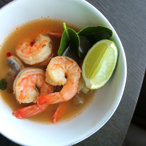 Shrimp Tom Yum- Thai Hot and Sour Soup