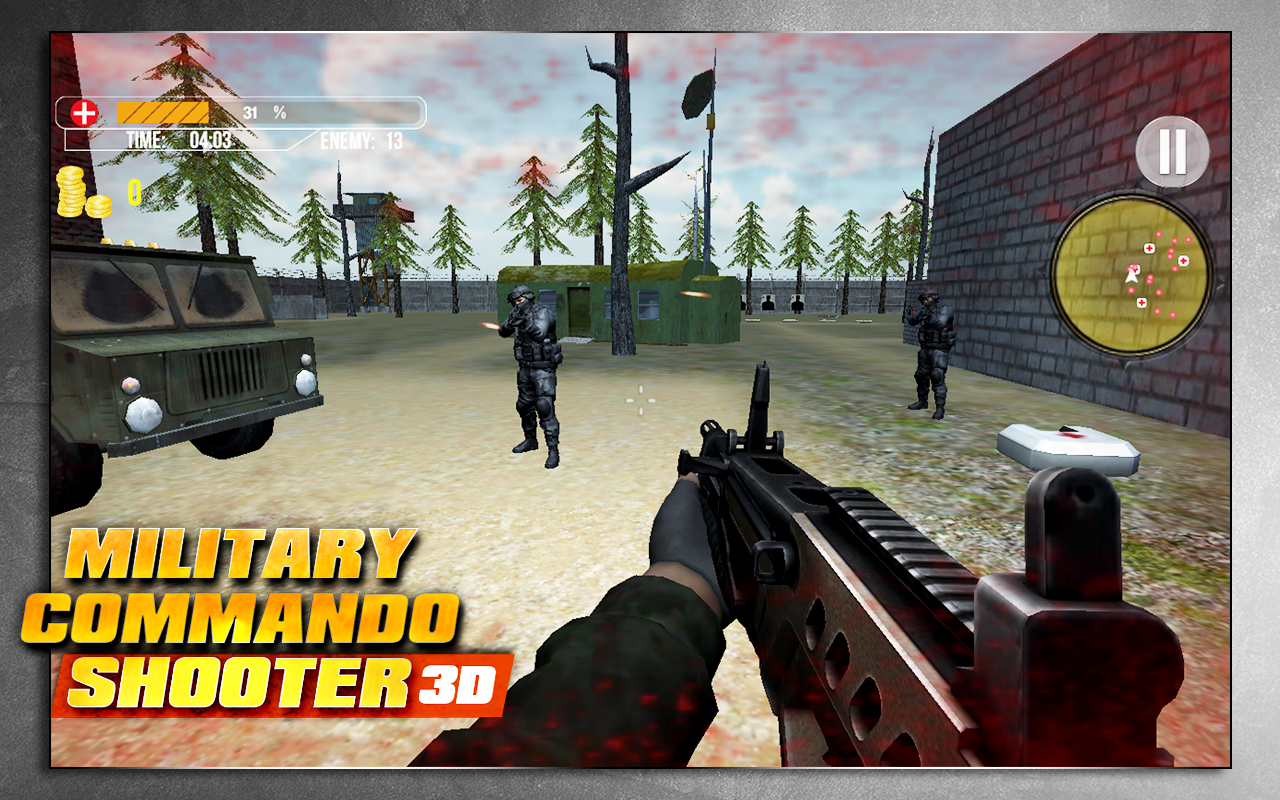 Military Commando Shooter 3D Screenshot 14