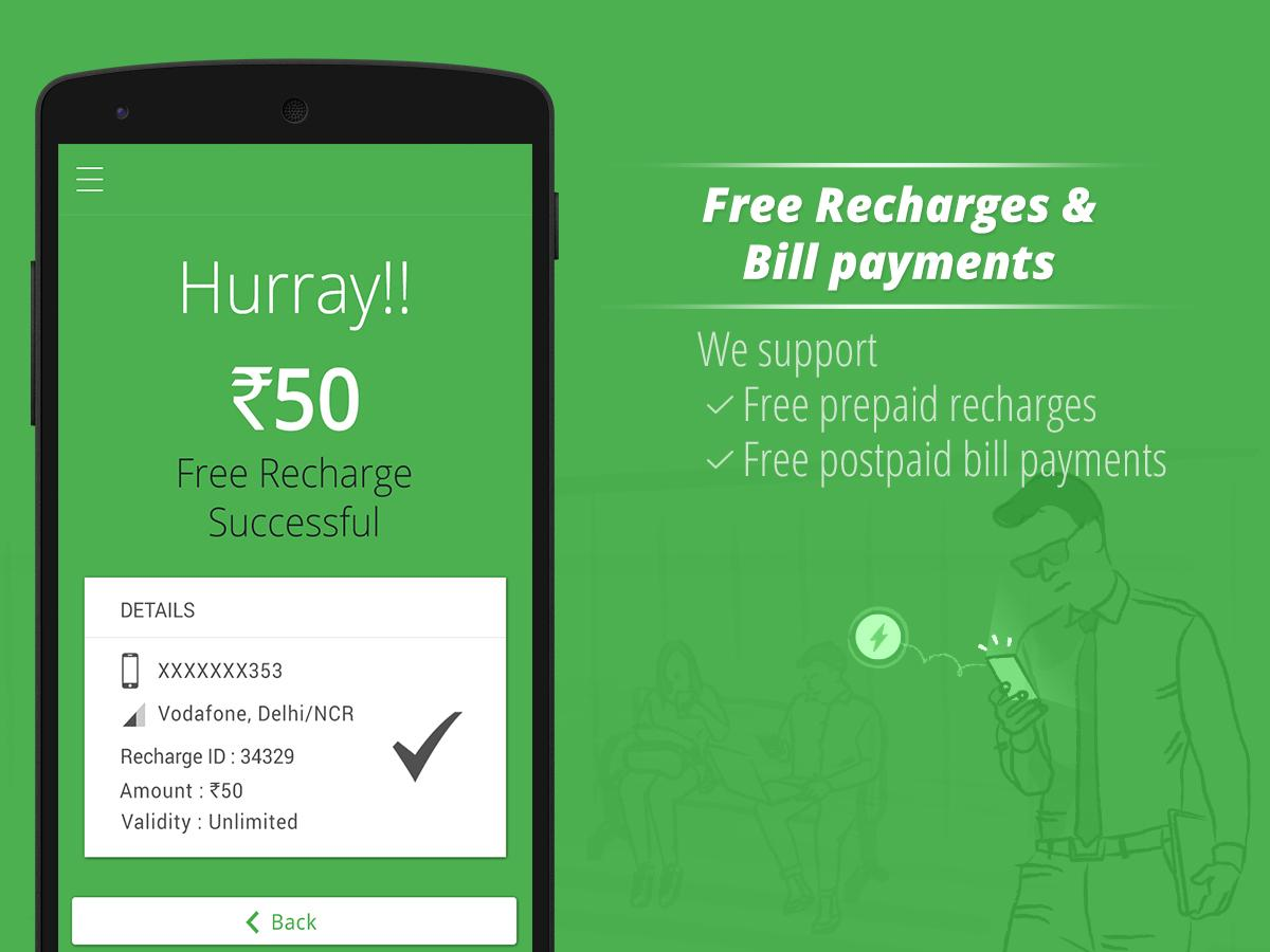Get Wallet Cash & Recharge Screenshot 1