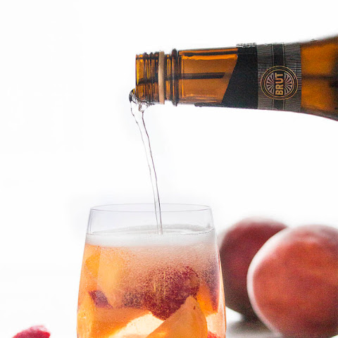 Easy White Peach Sangria