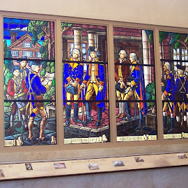 Wonderful Windows by Sandy Stevens Krassinger - Artistic Objects Glass ( colorful, glass, windows, historical, artistic objects, stained glass )