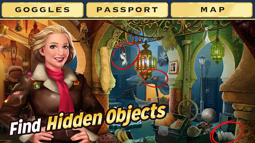 Pearl's Peril - Hidden Object Game screenshot 1