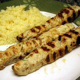 Ground Chicken Kebabs