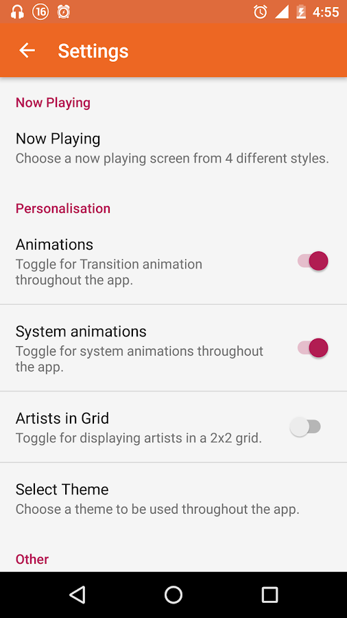 Swara Music Player Pro Screenshot 6