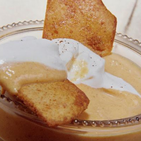 Ginger White Chocolate And Brandy Pumpkin Mousse