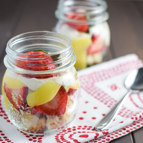 Strawberry Shortcake with Lemon Curd