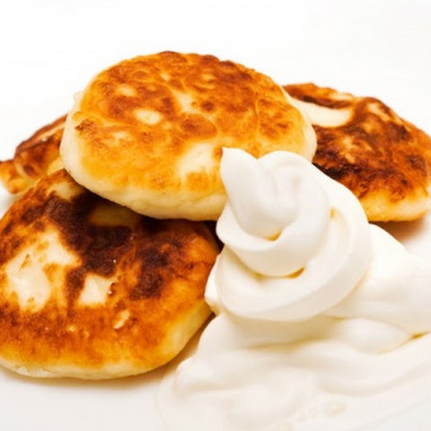 Surniki (cottage Cheese Pancakes)