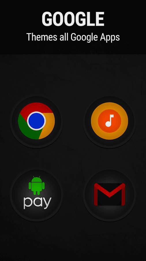 Stealth Icon Pack Screenshot 1
