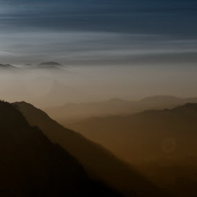 Misty Morning by Juang Rahmadillah - Landscapes Mountains & Hills