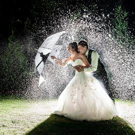 Splash by Lood Goosen (LWG Photo) - Wedding Bride & Groom ( water, wedding photography, wedding photographers, wedding day, weddings, wedding, brides, bride and groom, wedding photographer, bride, groom, bride groom )