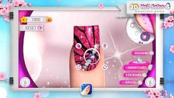 Screenshot of 3D Nail Salon & Manicure Game