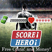 Cheats Score Hero Unlimited Life And Money - prank