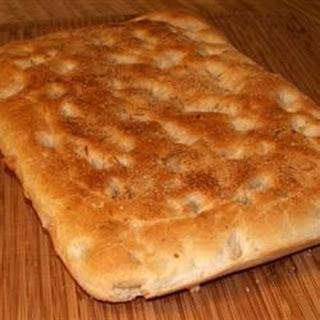 Herb Focaccia Bread Machine Recipes