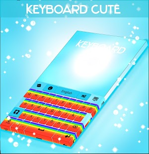 Keyboard Cute Rainbow - screenshot