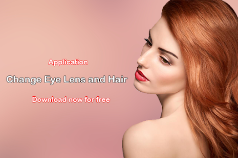 Change Eye Lens and Hair - screenshot