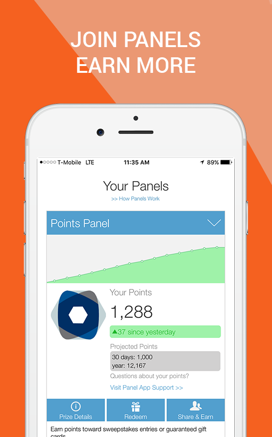 Panel App - Prizes & Rewards Screenshot 5