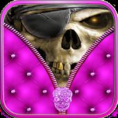 App Skull Zipper Screen Lock APK for Kindle