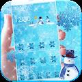 APK App Theme Ice Frozen Snow for BB, BlackBerry