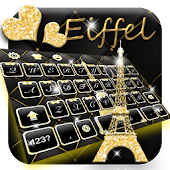 APK App Black Gold Eiffel for BB, BlackBerry