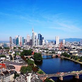 Frankfurt am Main by Alexandru VA - City,  Street & Park  Skylines ( frankfurt am main )