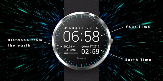 Newton: Interstellar WatchFace