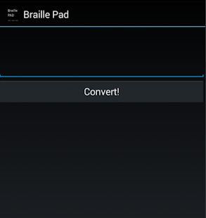 Braille Pad - screenshot