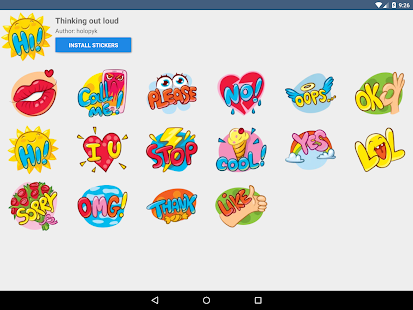 App Telegram Stickers apk for kindle fire