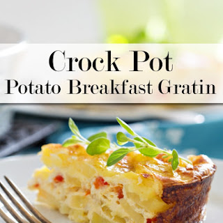 Crock Pot Potato Breakfast Gratin