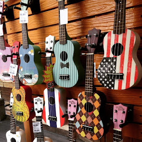 by Aditya Pramana - Artistic Objects Musical Instruments ( mini, guitar, okulele, iphonesia )