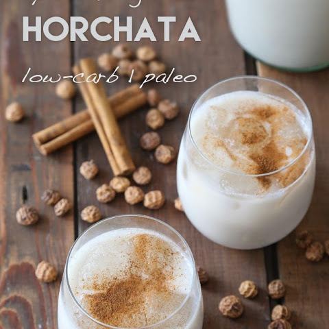 Low-Carb Spanish Horchata