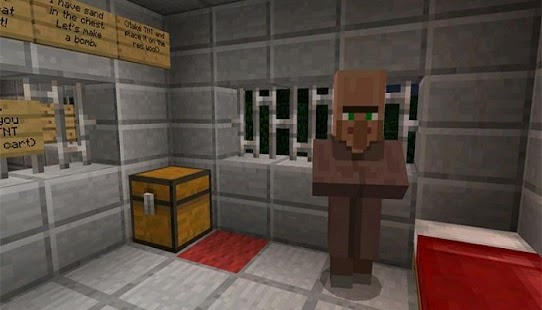 Prison Escape Minecraft Pe Map APK for Bluestacks