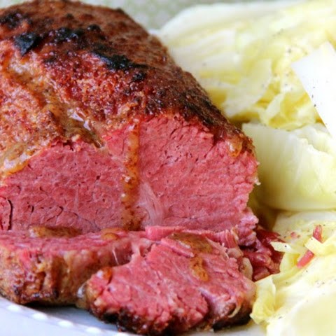 Honey Mustard Glazed Corned Beef