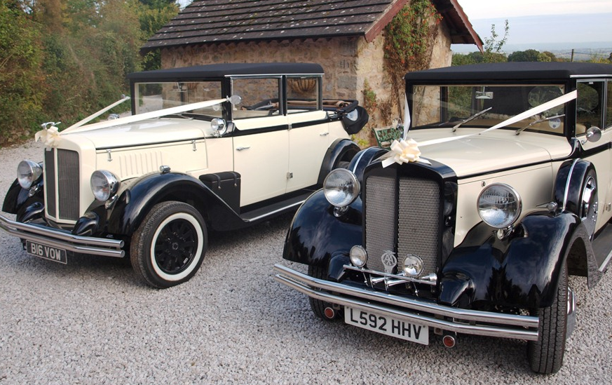 Vintage Wedding Cars in Wrexham