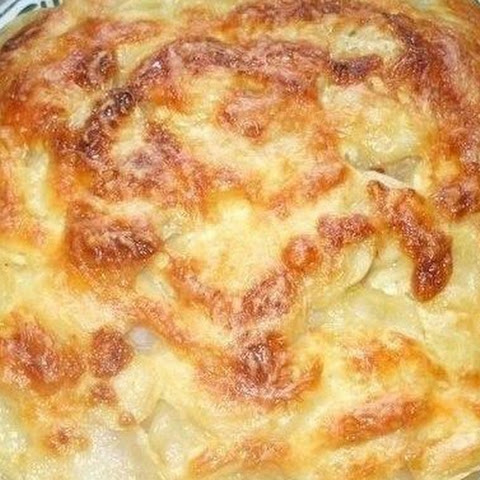 Chicken With Potatoes Baked With Mayonnaise