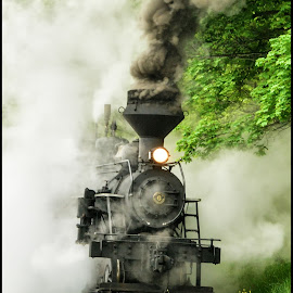 Smokin' by James Eickman - Transportation Trains (  )