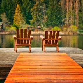 Cusheon Lake Chairs by Keri Harrish - Artistic Objects Furniture ( adirondack chairs )